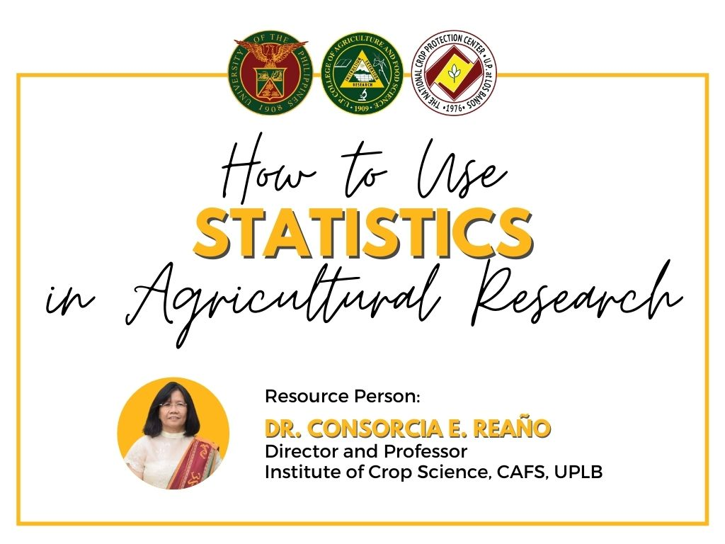 NCPC Holds Webinar on Use of Statistics for Agricultural Research